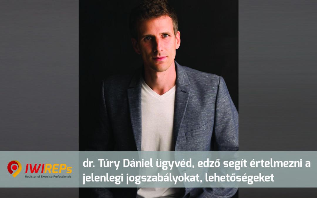 dr. Túry Dániel ügyvéd, edző segít értelmezni az újranyitási szabályokat és az edzőket érintő lehetőségeket – 2021. május 6.